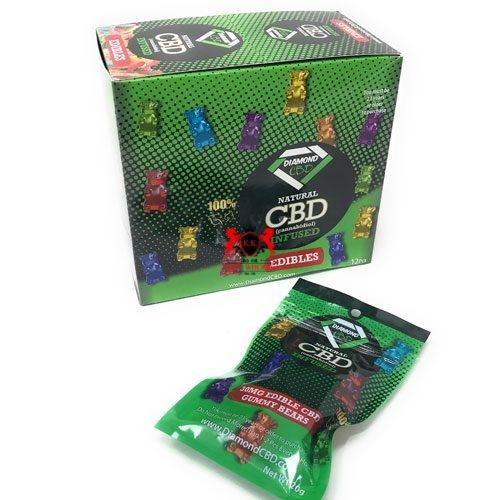 Natural CBD Infused Honey – 30 MG Edible CBD Gummy Bears